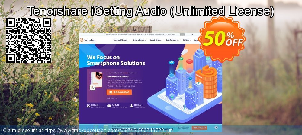 Tenorshare iGetting Audio - Unlimited License  coupon on Exclusive Teacher discount promotions