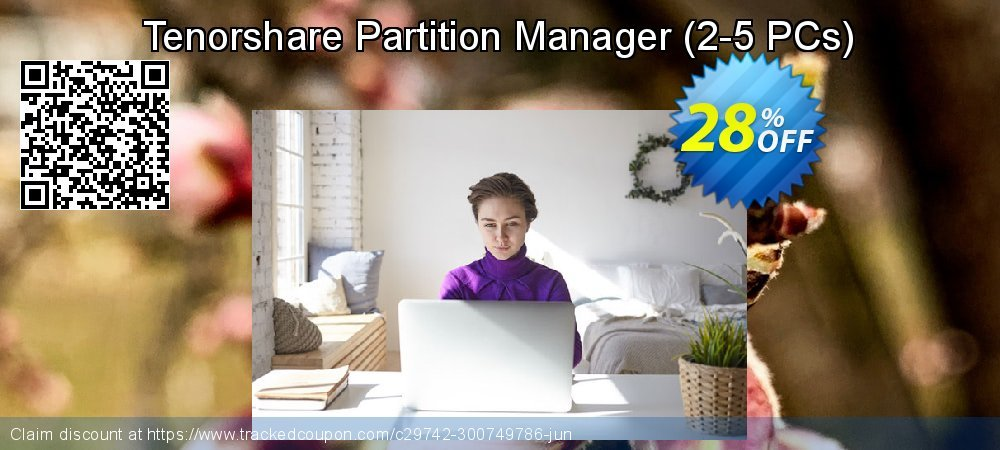 Tenorshare Partition Manager - 2-5 PCs  coupon on National Noodle Day offering discount