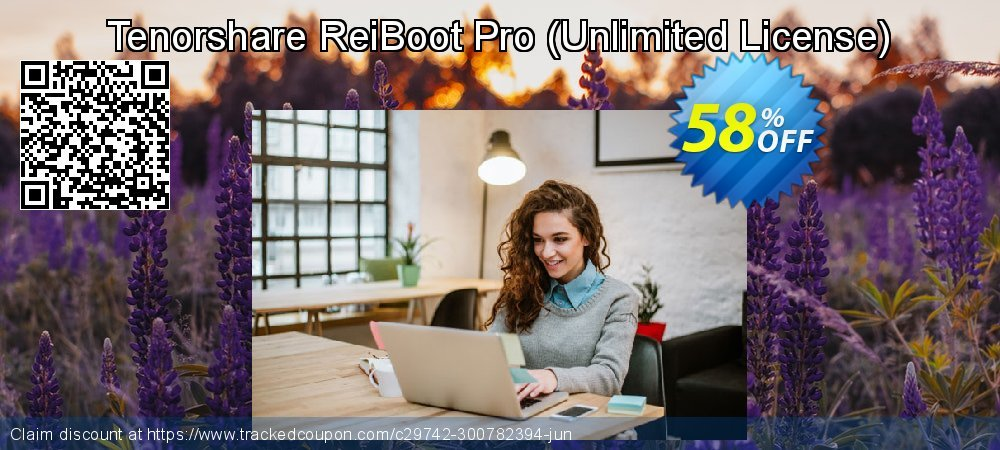 Claim 58% OFF Tenorshare ReiBoot Pro - Unlimited License Coupon discount June, 2020