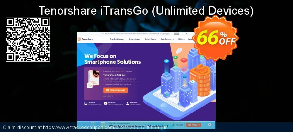 Get 20% OFF Tenorshare Phone to Phone Transfer - 1 Year/Unlimited Devices deals