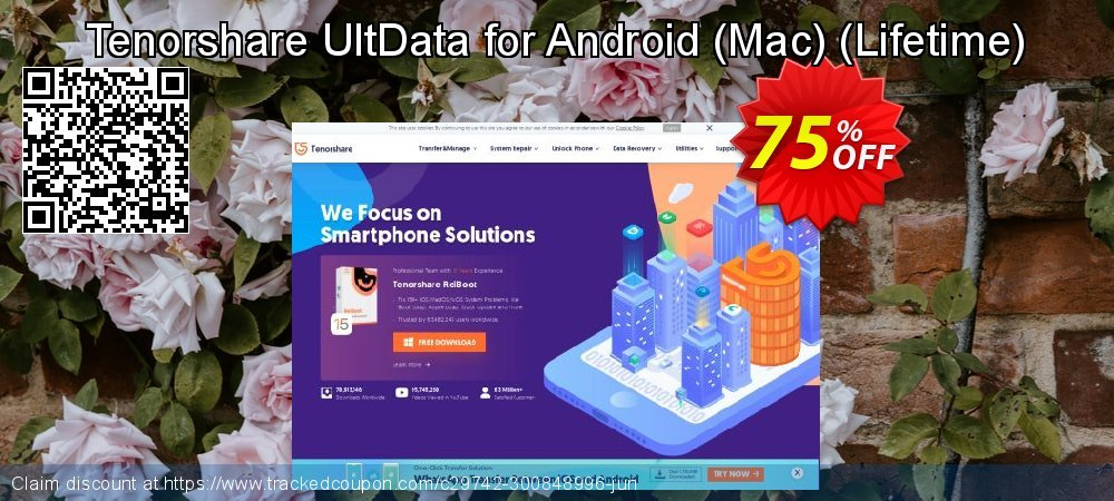 Claim 75% OFF Tenorshare UltData for Android - Mac - Lifetime Coupon discount May, 2021