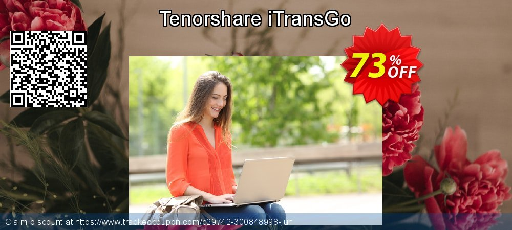 Tenorshare iTransGo coupon on National Pumpkin Day sales