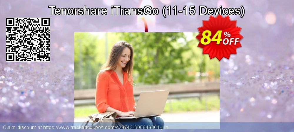 Tenorshare iTransGo - 11-15 Devices  coupon on Back to School shopping offer