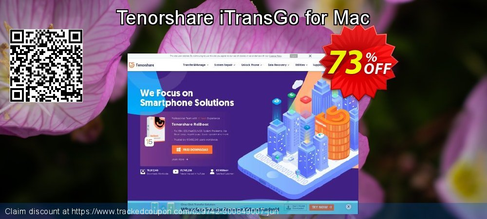 Tenorshare iTransGo for Mac coupon on Navy Day sales