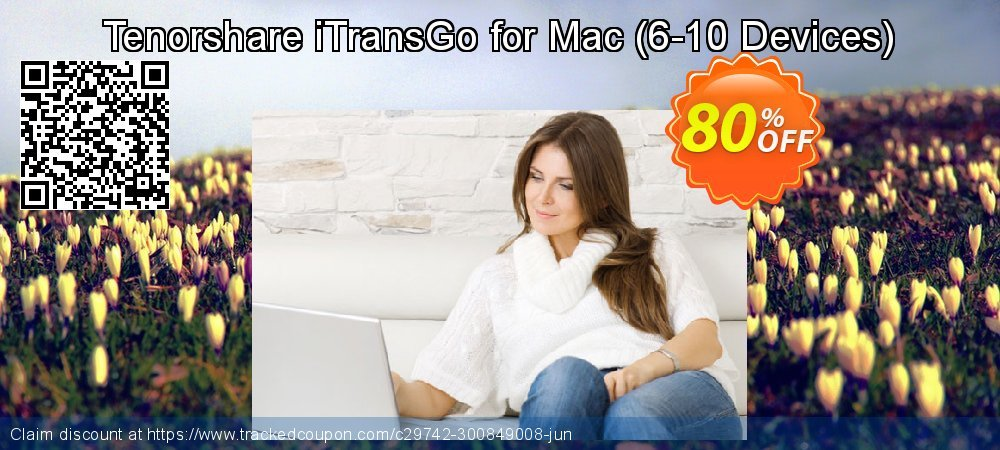 Tenorshare iTransGo for Mac - 6-10 Devices  coupon on Exclusive Teacher discount sales