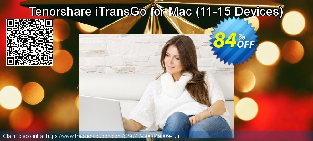 Tenorshare iTransGo for Mac - 11-15 Devices  coupon on National Pumpkin Day offer