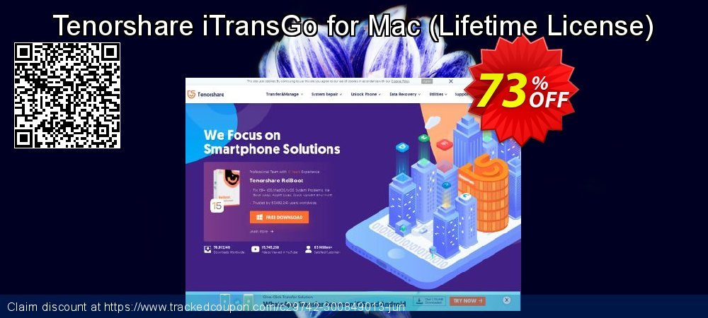 Tenorshare iTransGofor Mac - Lifetime License  coupon on Halloween super sale