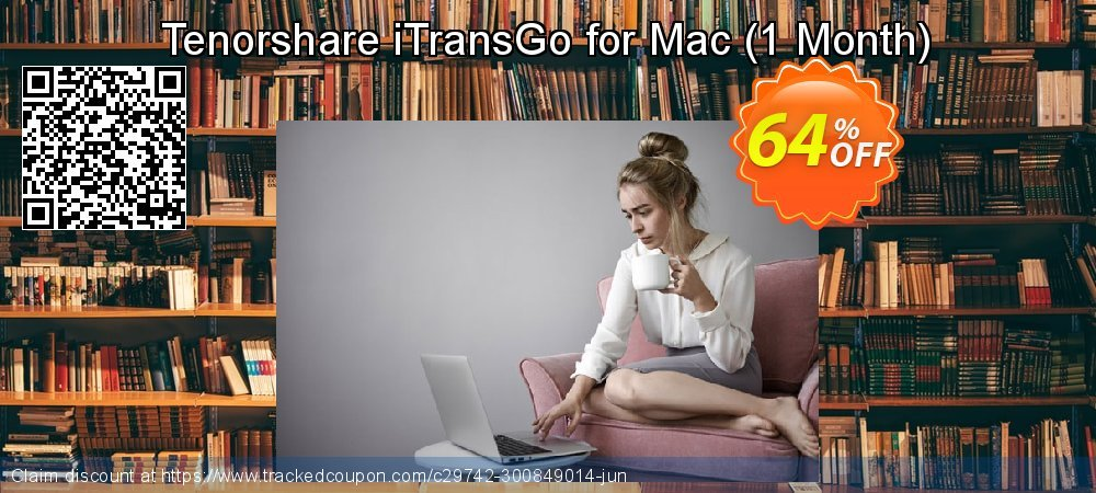 Tenorshare iTransGo for Mac - 1 Month  coupon on Chinese National Day discounts