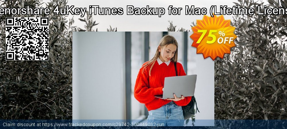 TTenorshare 4uKey iTunes Backup for Mac - Lifetime License  coupon on All Saints' Eve discounts