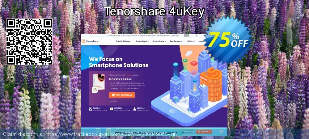 Tenorshare 4uKey coupon on National Pumpkin Day deals