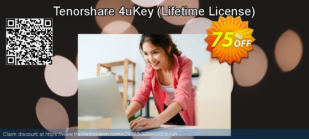 Tenorshare 4uKey - Lifetime License  coupon on World Smile Day offering discount