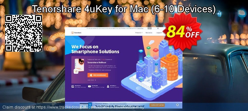 Tenorshare 4uKey for Mac - 6-10 Devices  coupon on Exclusive Teacher discount super sale