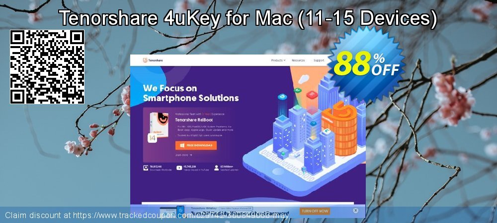 Tenorshare 4uKey for Mac - 11-15 Devices  coupon on University Student offer discounts