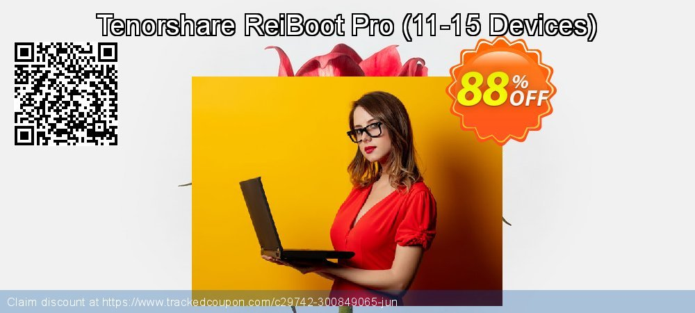 Claim 88% OFF Tenorshare ReiBoot Pro - 11-15 Devices Coupon discount June, 2020