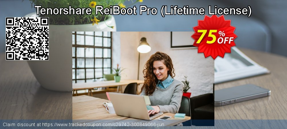 Claim 75% OFF Tenorshare ReiBoot Pro - Lifetime License Coupon discount June, 2020