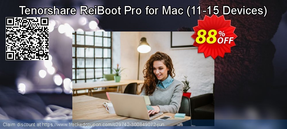 Tenorshare ReiBoot Pro for Mac - 11-15 Devices  coupon on Back to School season deals