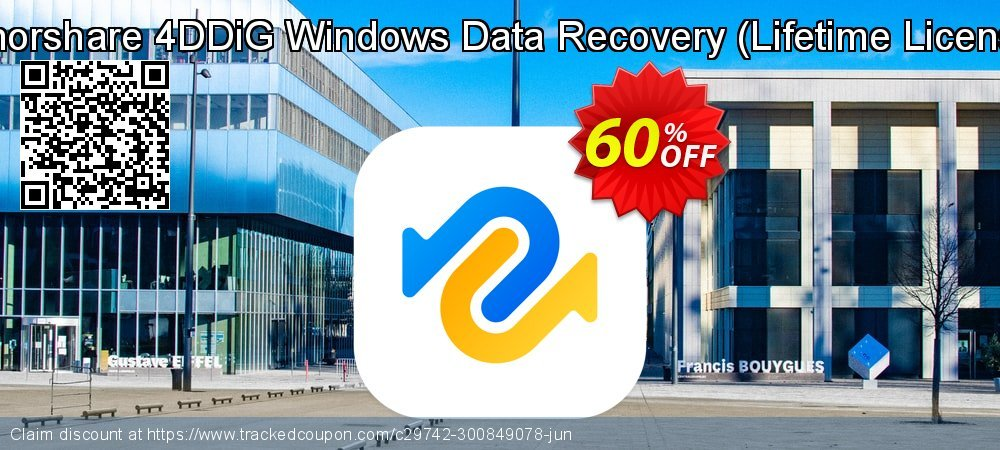 Claim 60% OFF Tenorshare 4DDiG Windows Data Recovery - Lifetime License Coupon discount May, 2021