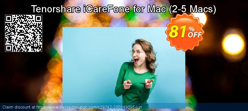 Tenorshare iCareFone for Mac - 2-5 Macs  coupon on Navy Day discounts