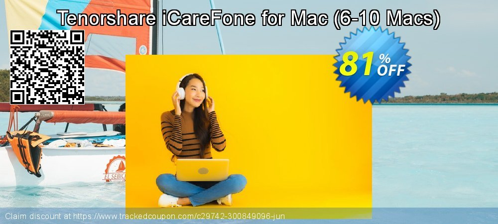 Tenorshare iCareFone for Mac - 6-10 Macs  coupon on Coffee Day promotions