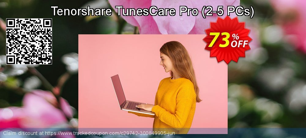 Tenorshare TunesCare Pro - 2-5 PCs  coupon on Chinese National Day discounts
