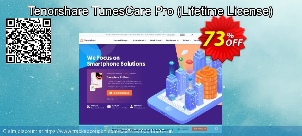 Tenorshare TunesCare Pro - Lifetime License  coupon on National Savings Day sales