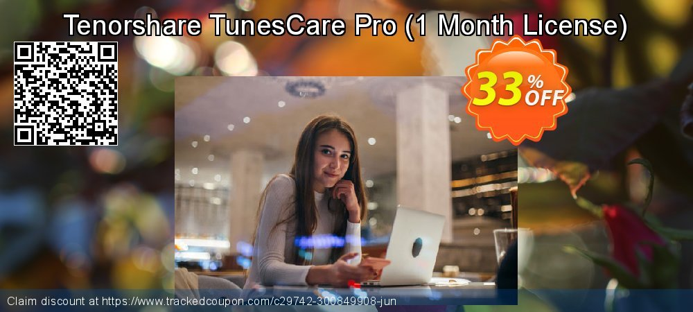 Tenorshare TunesCare Pro - 1 Month License  coupon on Exclusive Student discount sales