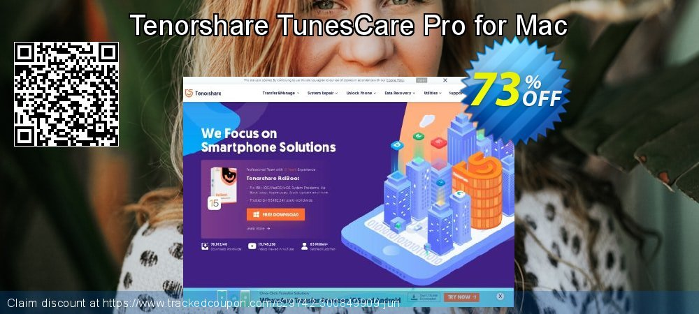 Tenorshare TunesCare Pro for Mac coupon on Navy Day offer