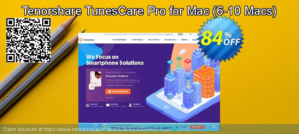 Tenorshare TunesCare Pro for Mac - 6-10 Macs  coupon on Coffee Day discount