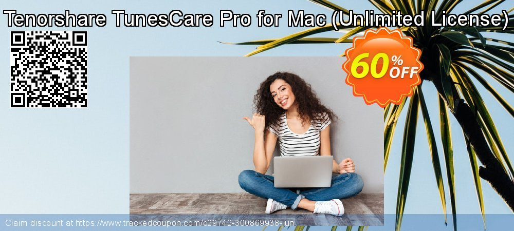 Tenorshare TunesCare Pro for Mac - Unlimited License  coupon on National Savings Day super sale