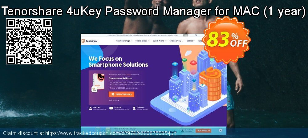 Tenorshare 4uKey Password Manager for MAC - 1 year  coupon on Chinese National Day super sale