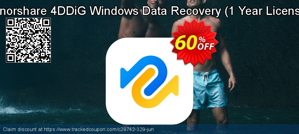 Tenorshare UltData Windows Data Recovery - 1 year License  coupon on Halloween deals