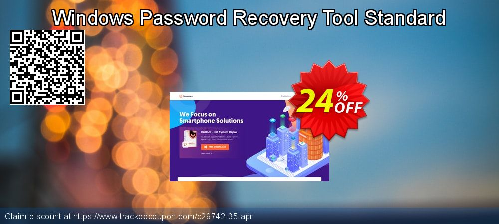 Get 10% OFF Windows Password Recovery Tool Standard deals