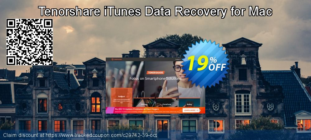 Claim 22% OFF Tenorshare iTunes Data Recovery for Mac-Family Pack Coupon discount December, 2019
