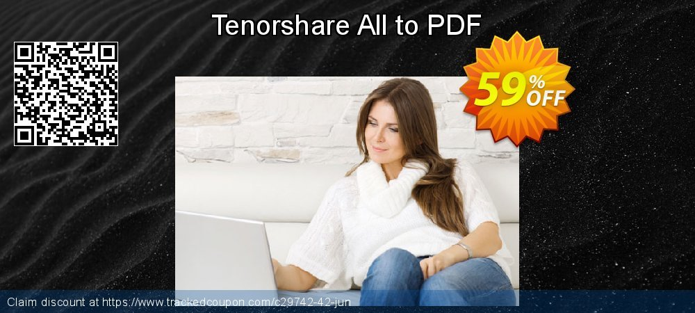Tenorshare All to PDF coupon on World Teachers' Day offer