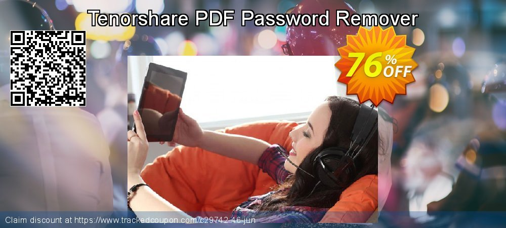 Get 10% OFF Tenorshare PDF Password Remover for Windows offering sales
