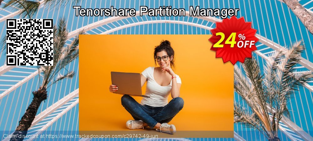 Tenorshare Partition Manager coupon on Back to School offer promotions