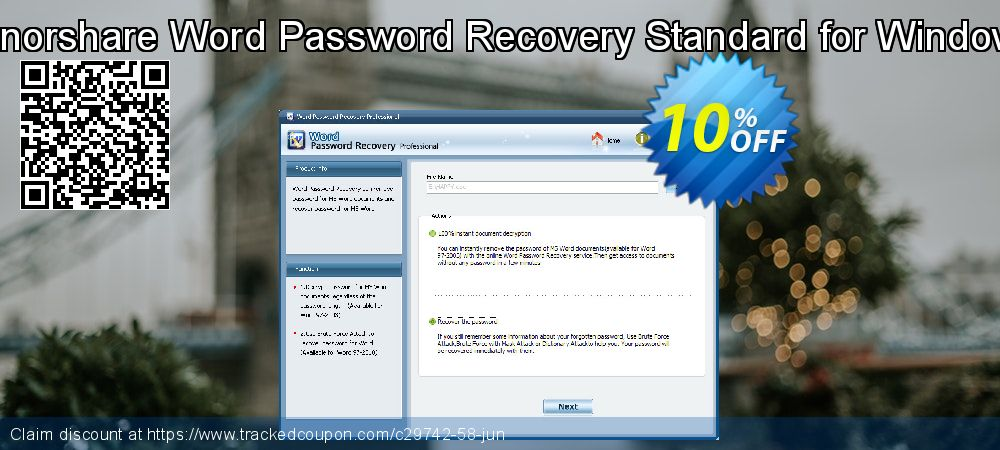 Claim 10% OFF Tenorshare Word Password Recovery Standard for Windows Coupon discount June, 2019