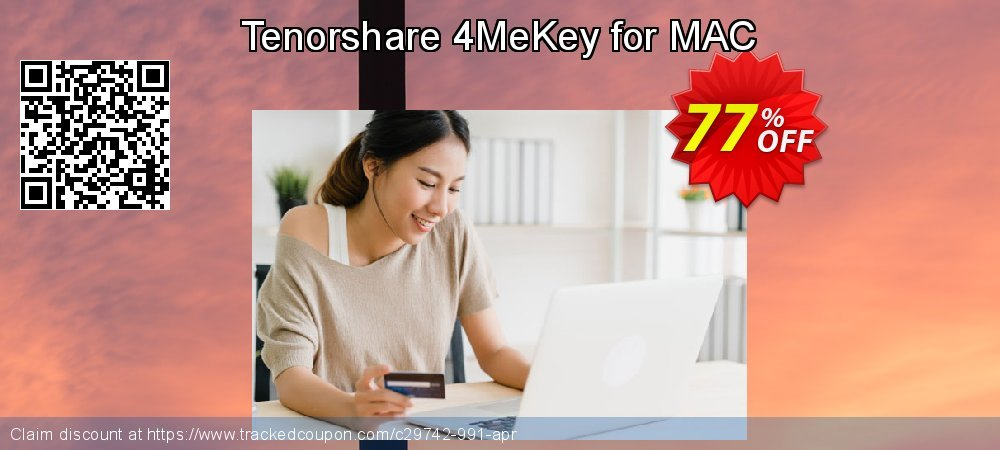 Tenorshare 4MeKey for MAC coupon on All Hallows' evening super sale