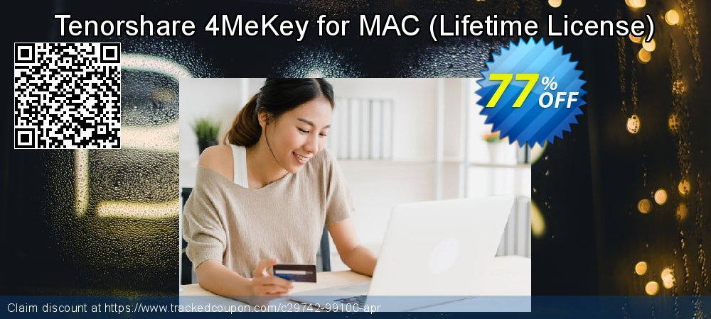 Tenorshare 4MeKey for MAC - Lifetime License  coupon on All Hallows' evening super sale