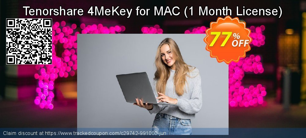 Tenorshare 4MeKey for MAC - 1 Month License  coupon on National Savings Day super sale
