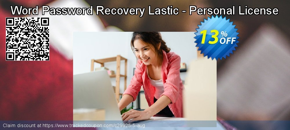 Get 10% OFF Word Password Recovery Lastic - Personal License offering sales