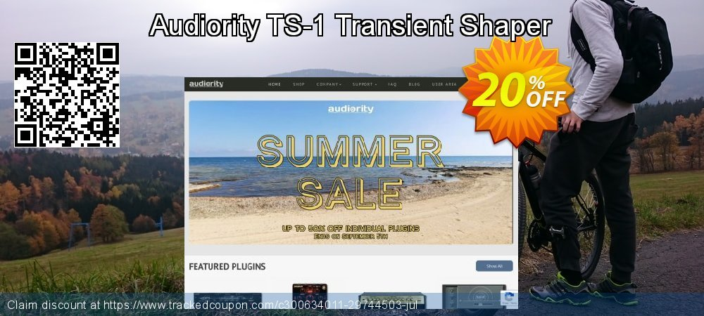 Get 20% OFF Audiority TS-1 Transient Shaper promotions