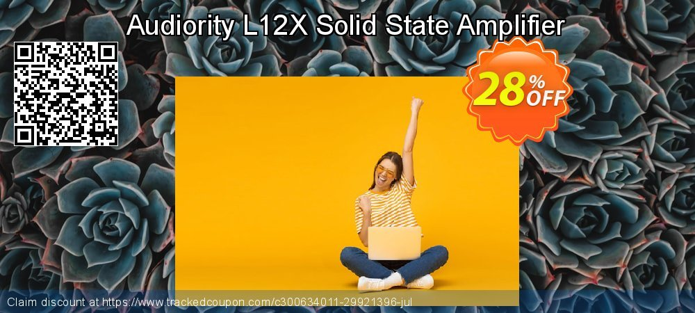 Audiority L12X Solid State Amplifier coupon on World Oceans Day sales