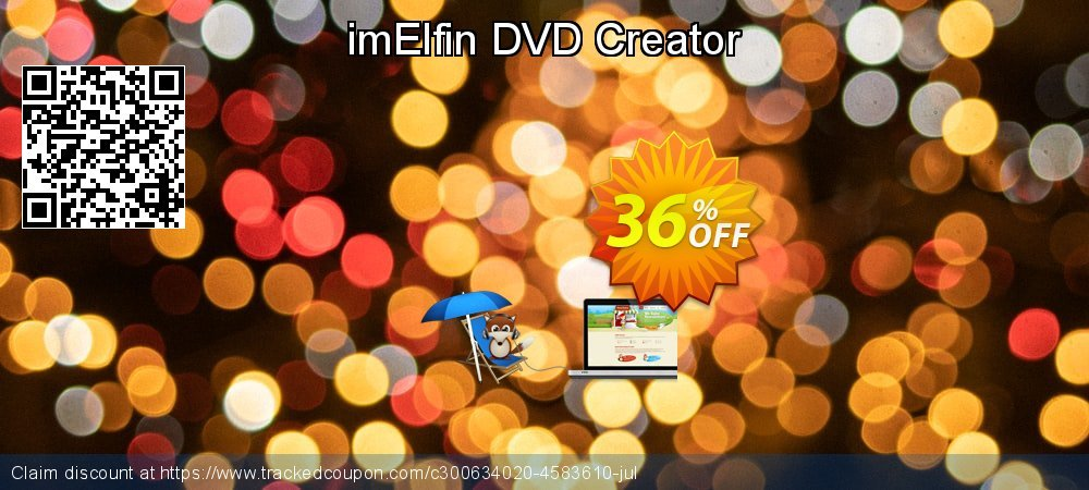 imElfin DVD Creator coupon on Happy New Year promotions