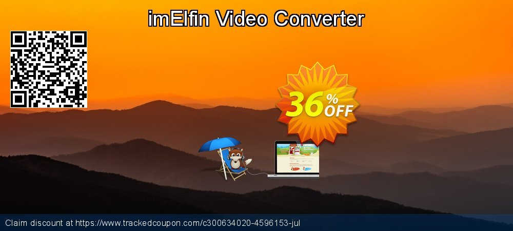 imElfin Video Converter coupon on New Year's Day offering sales