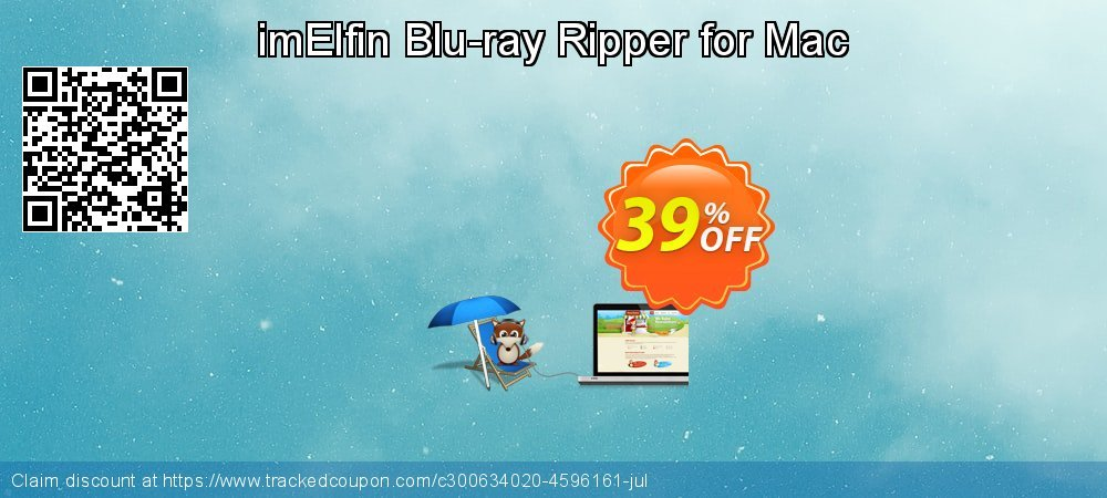 imElfin Blu-ray Ripper for Mac coupon on New Year's Day offering discount