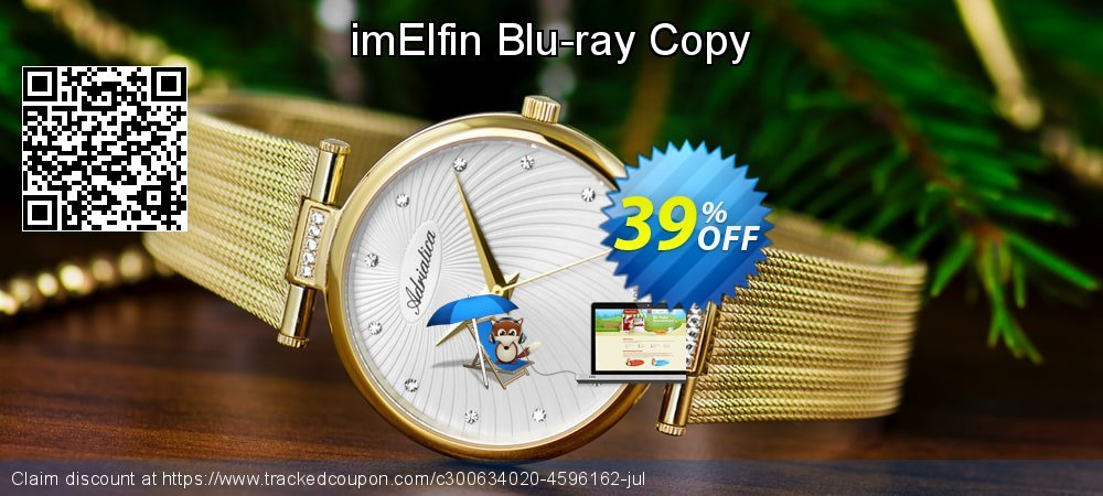 imElfin Blu-ray Copy coupon on Happy New Year offering sales