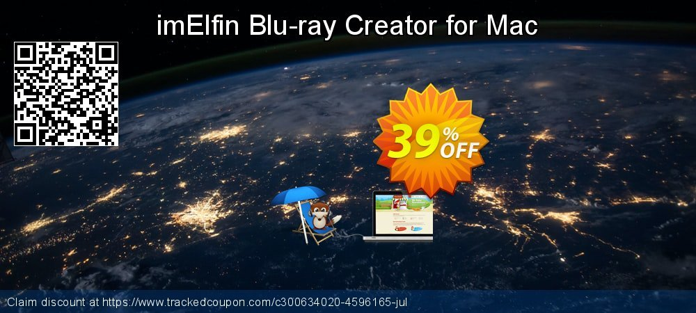 imElfin Blu-ray Creator for Mac coupon on New Year's Day promotions