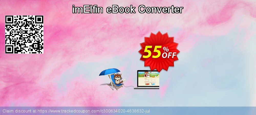 imElfin eBook Converter coupon on New Year offering discount