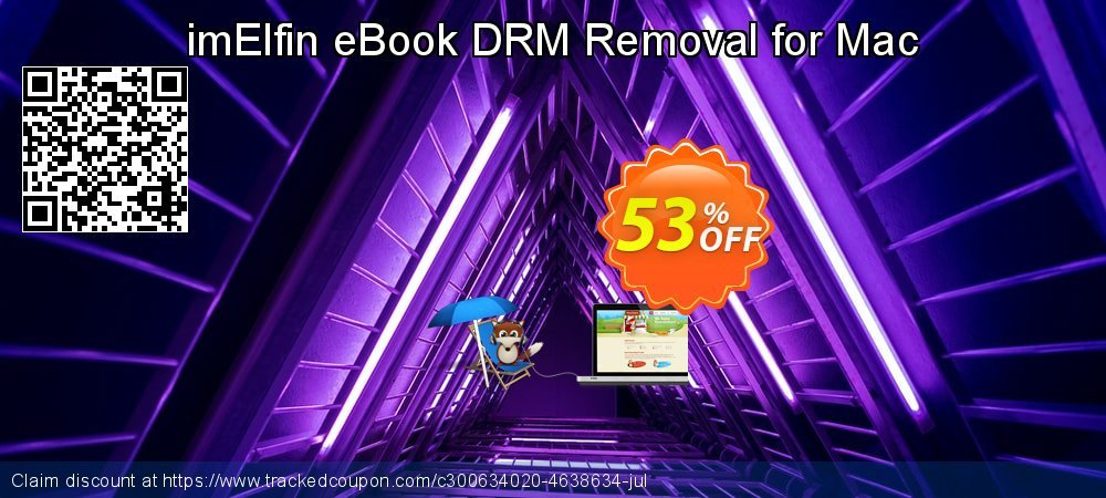 imElfin eBook DRM Removal for Mac coupon on Happy New Year super sale
